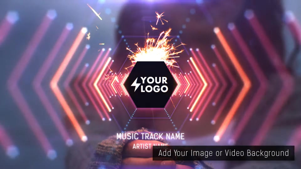 Audio React Tunnel Music Visualizer - Download Videohive