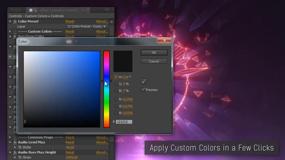 Audio Spectrum Music Visualizer - Download Videohive 10923661
