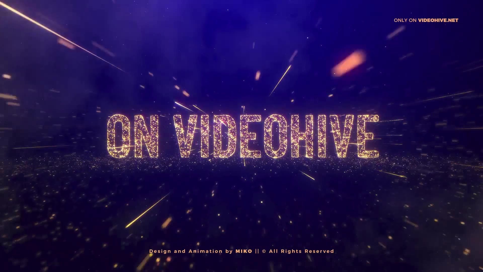 Awards Gold Particles Titles Videohive 24513891 After Effects Image 3