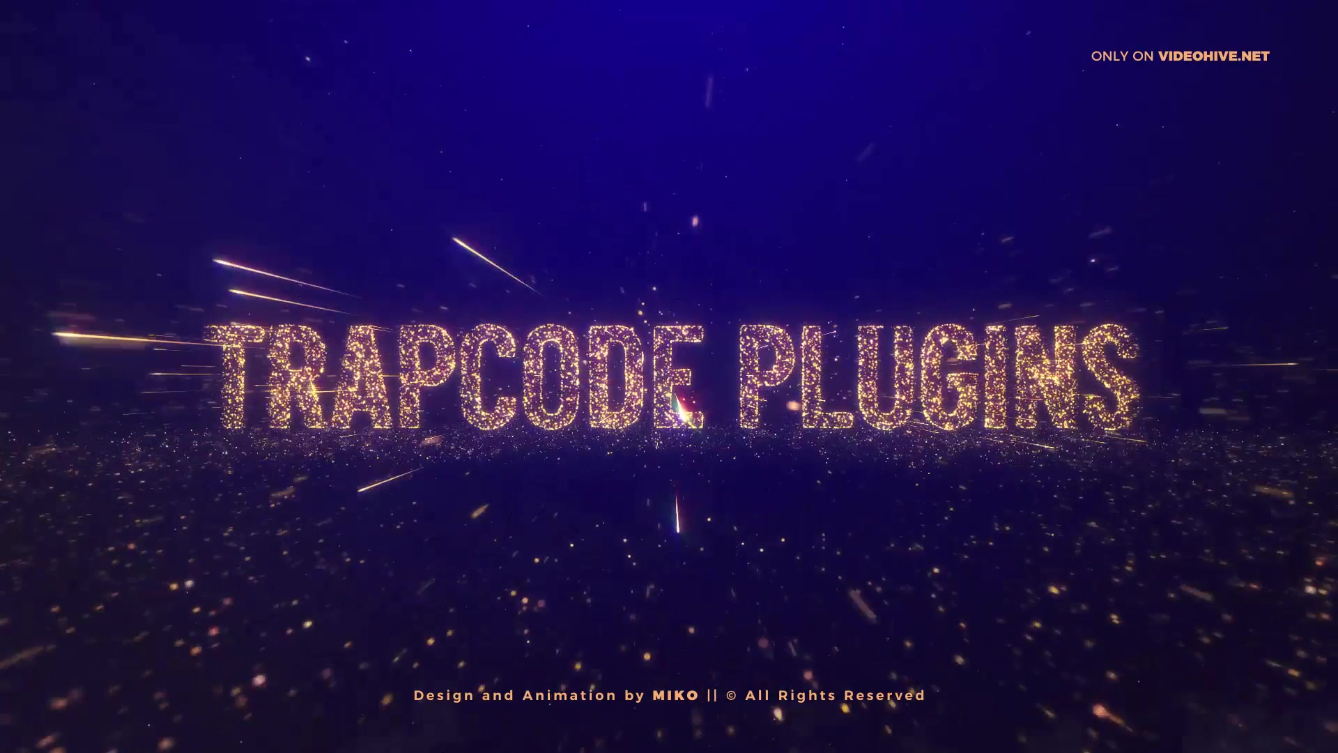 Awards Gold Particles Titles Videohive 24513891 After Effects Image 5
