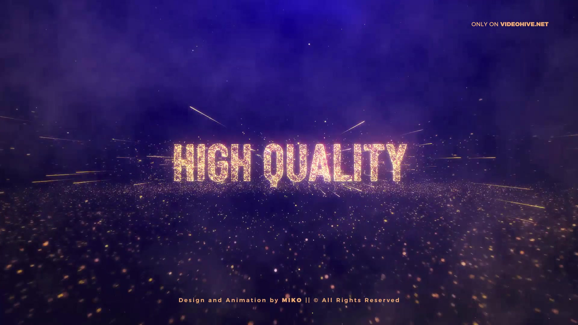Awards Gold Particles Titles Videohive 24513891 After Effects Image 8