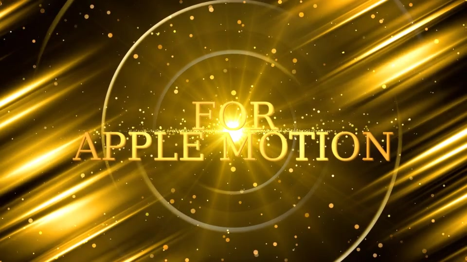Awards Show Promo Pack Apple Motion - Download Videohive 20936657