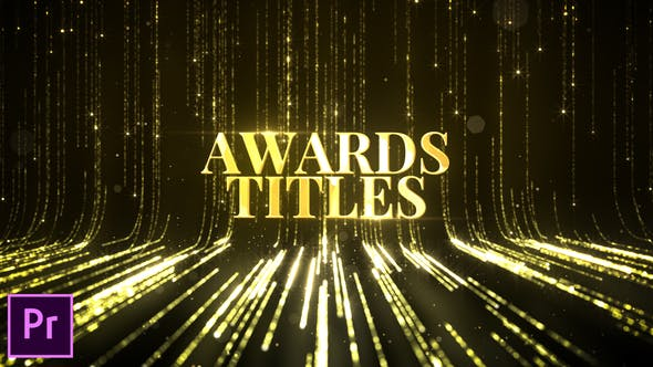 Awards Titles Premiere Pro - Videohive Download 24604134