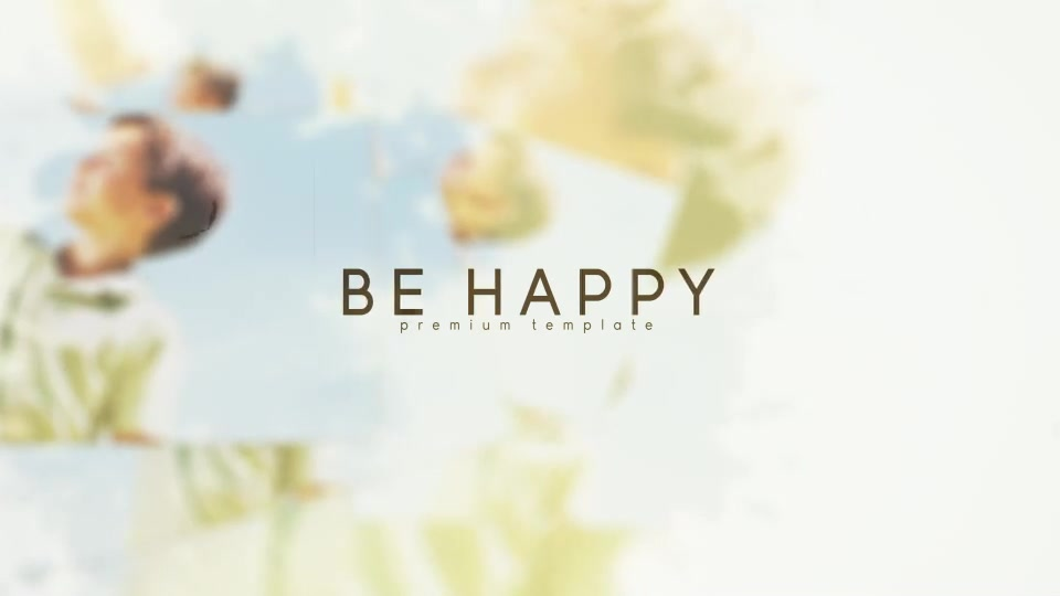 Be Happy - Download Videohive 20714400