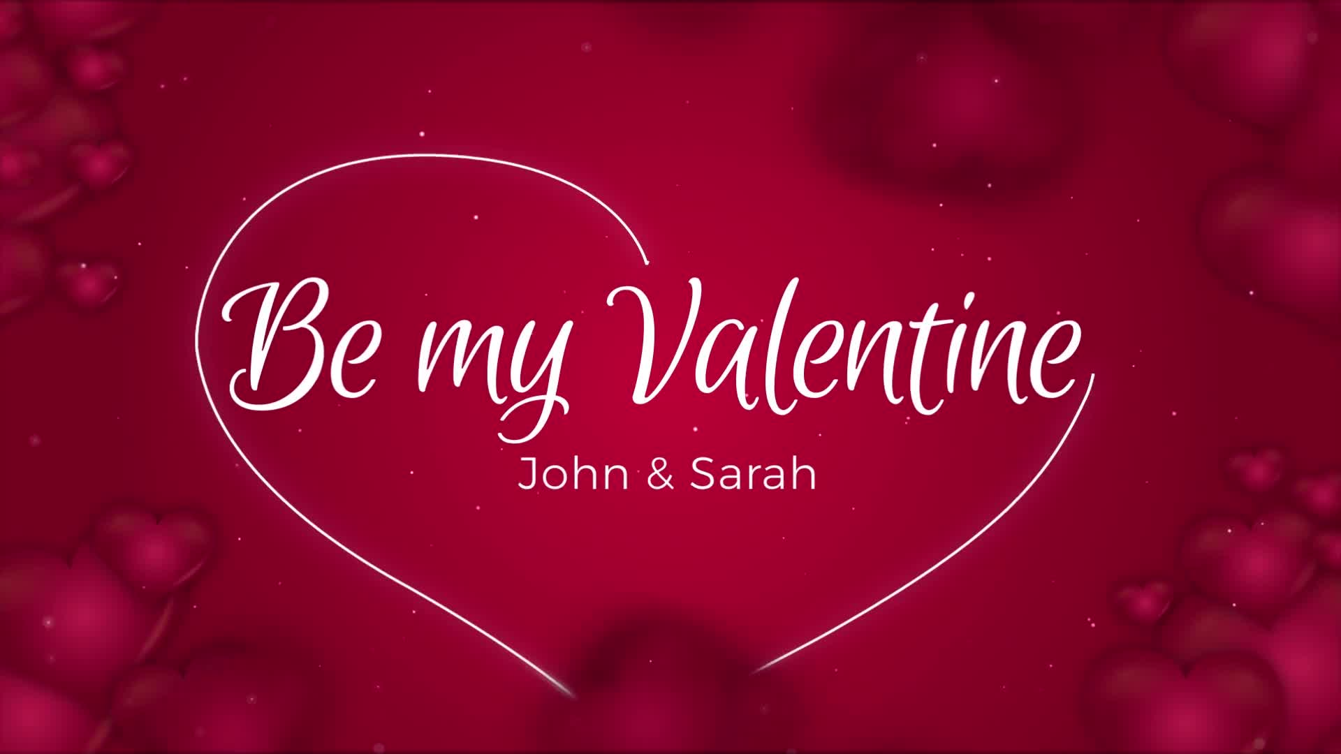 Be my Valentine Videohive 23241376 After Effects Image 1