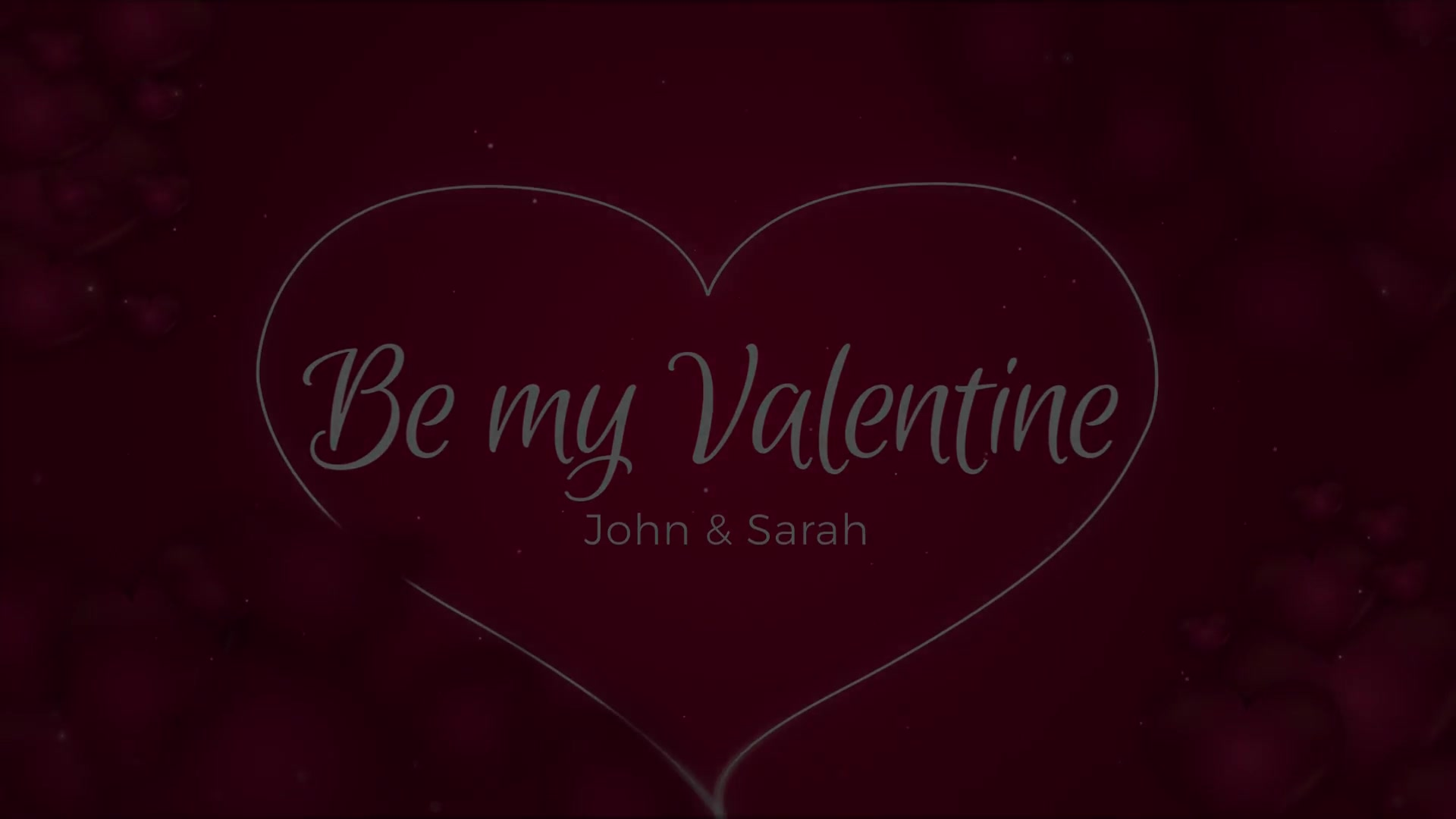 Be my Valentine Videohive 23241376 After Effects Image 13