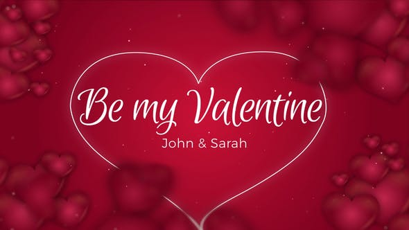 Be my Valentine - 23241376 Download Videohive