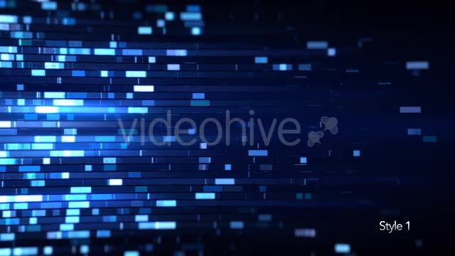Biotechnology Data Technology Blue Background - Download Videohive 19341780