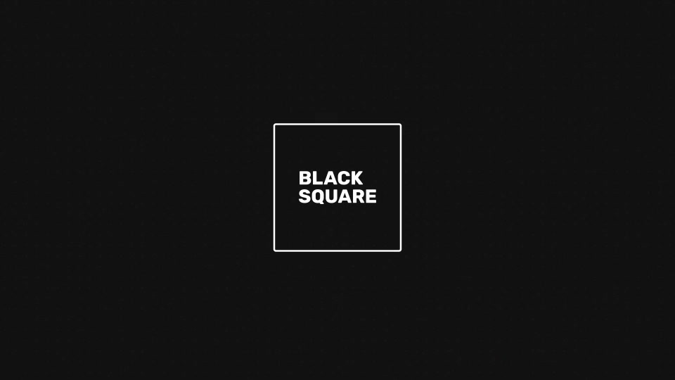 Black Square - Download Videohive 20207903