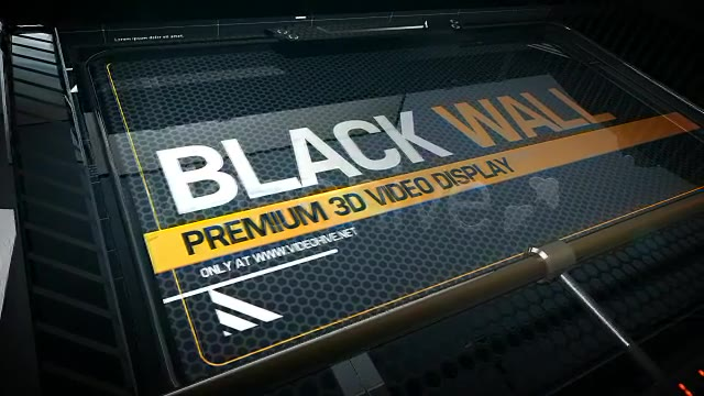 Black Wall - Download Videohive 5172878