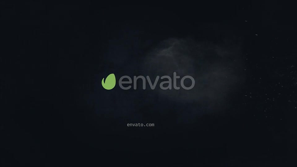 Blackboard Particles Logo - Download Videohive 19513033
