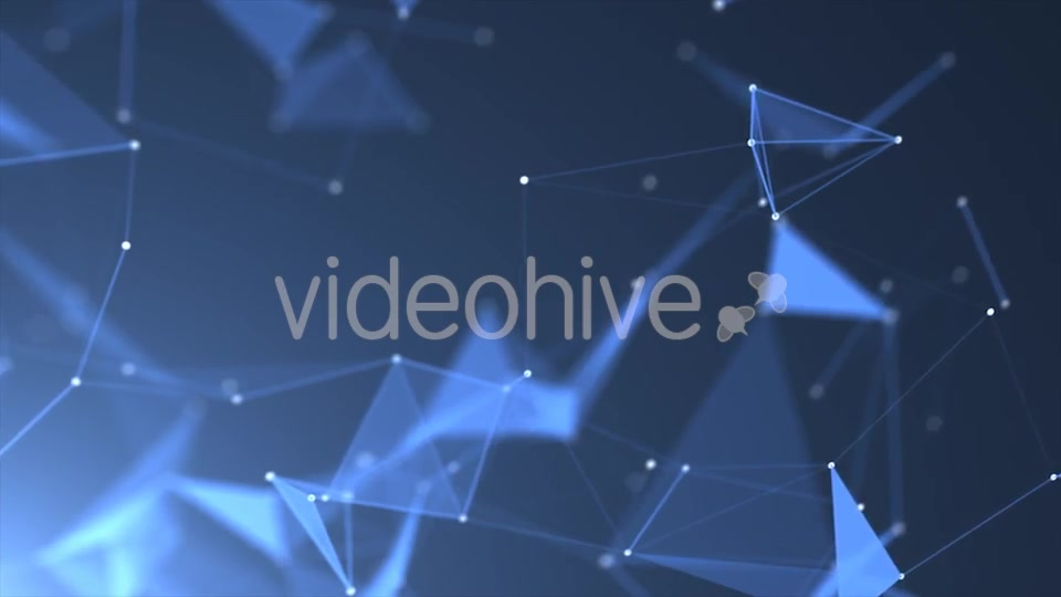 Blue Crystal Lattices Background - Download Videohive 18152910