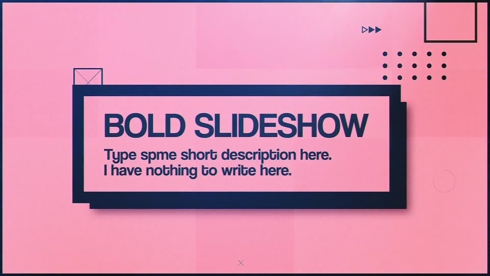 Bold Slideshow - Download Videohive 22620111