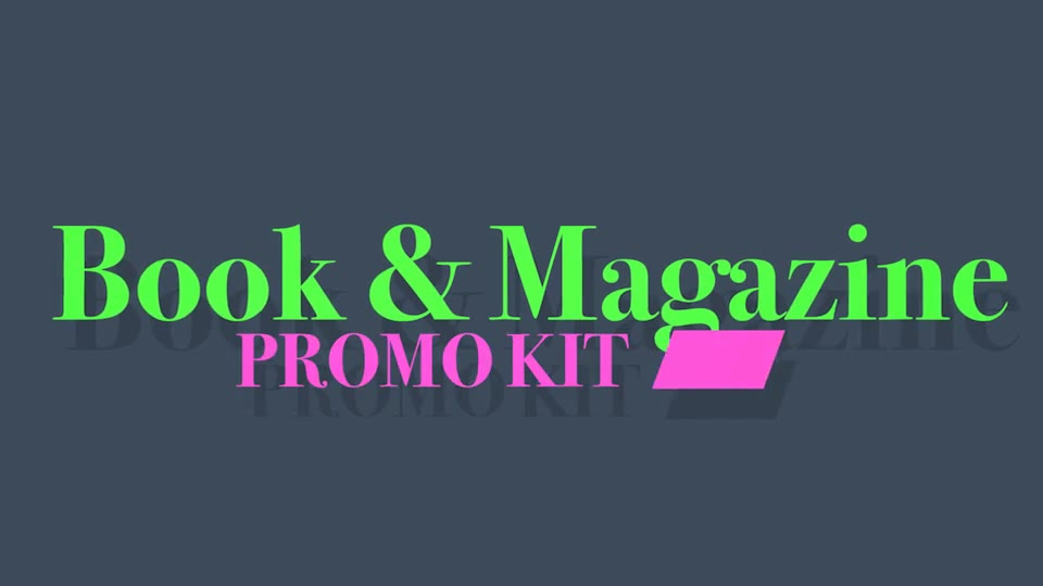 Book and Magazine Promo Kit - Download Videohive 19742450