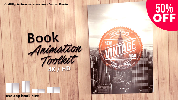 Book Animation Toolkit - Download Videohive 21751656