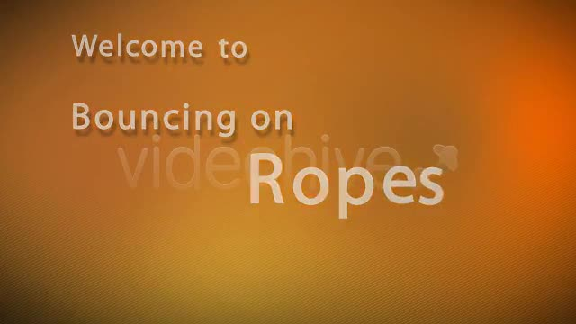 Bouncing on Ropes - Download Videohive 263321