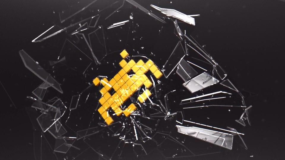 Breaking Glass Logo - Download Videohive 8338913