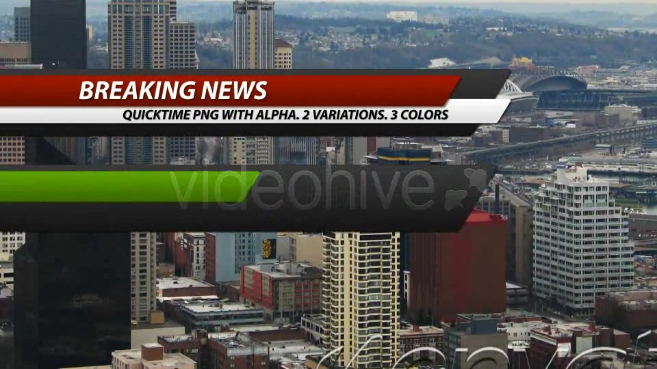 Breaking News Corporate Lower Third Pack (7 in 1) - Download Videohive 101659