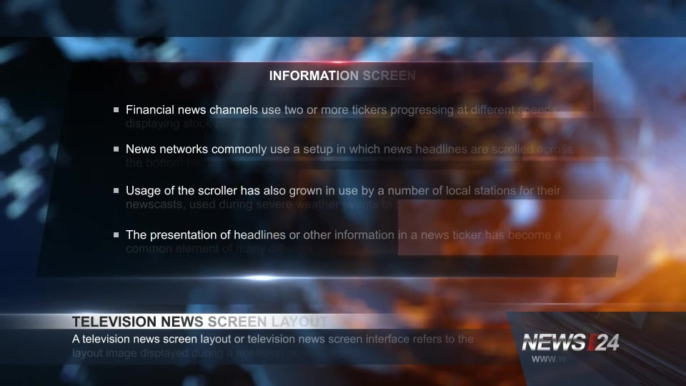Broadcast Design News 24 Package - Download Videohive 11719046