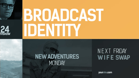 Broadcast Identity pack - Download Videohive 15587865