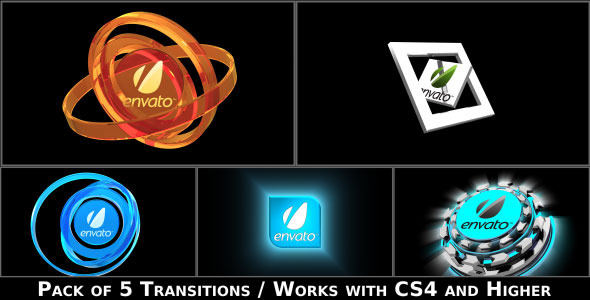 Broadcast Logo Transition Pack - Download Videohive 2817604