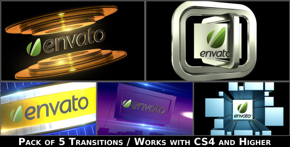 Broadcast Logo Transition Pack V2 - Download Videohive 4650191