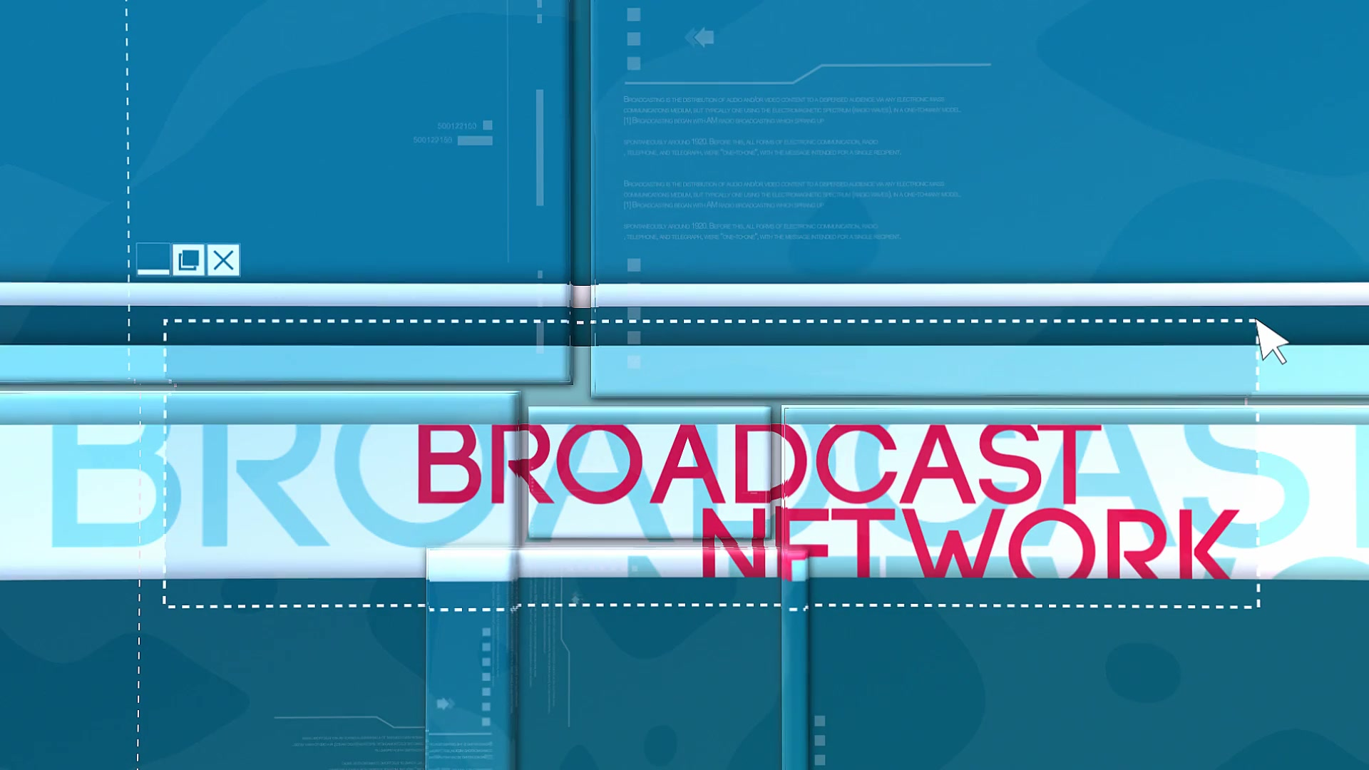 Broadcast Network - Download Videohive 11459409