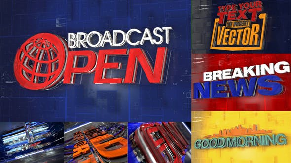 Broadcast Open - Download Videohive 21380818