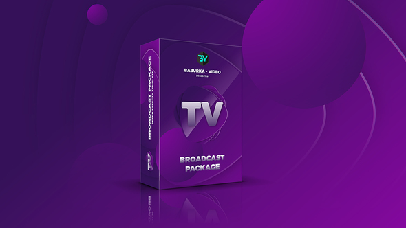 Broadcast Package // Colored TV - Download Videohive 22499025