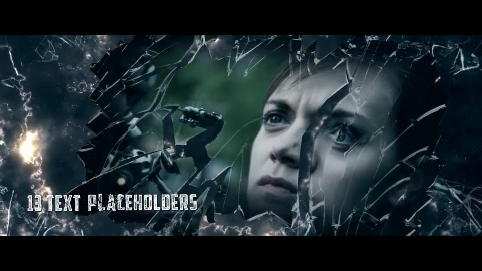 Broken Glass Trailer - Download Videohive 10896126