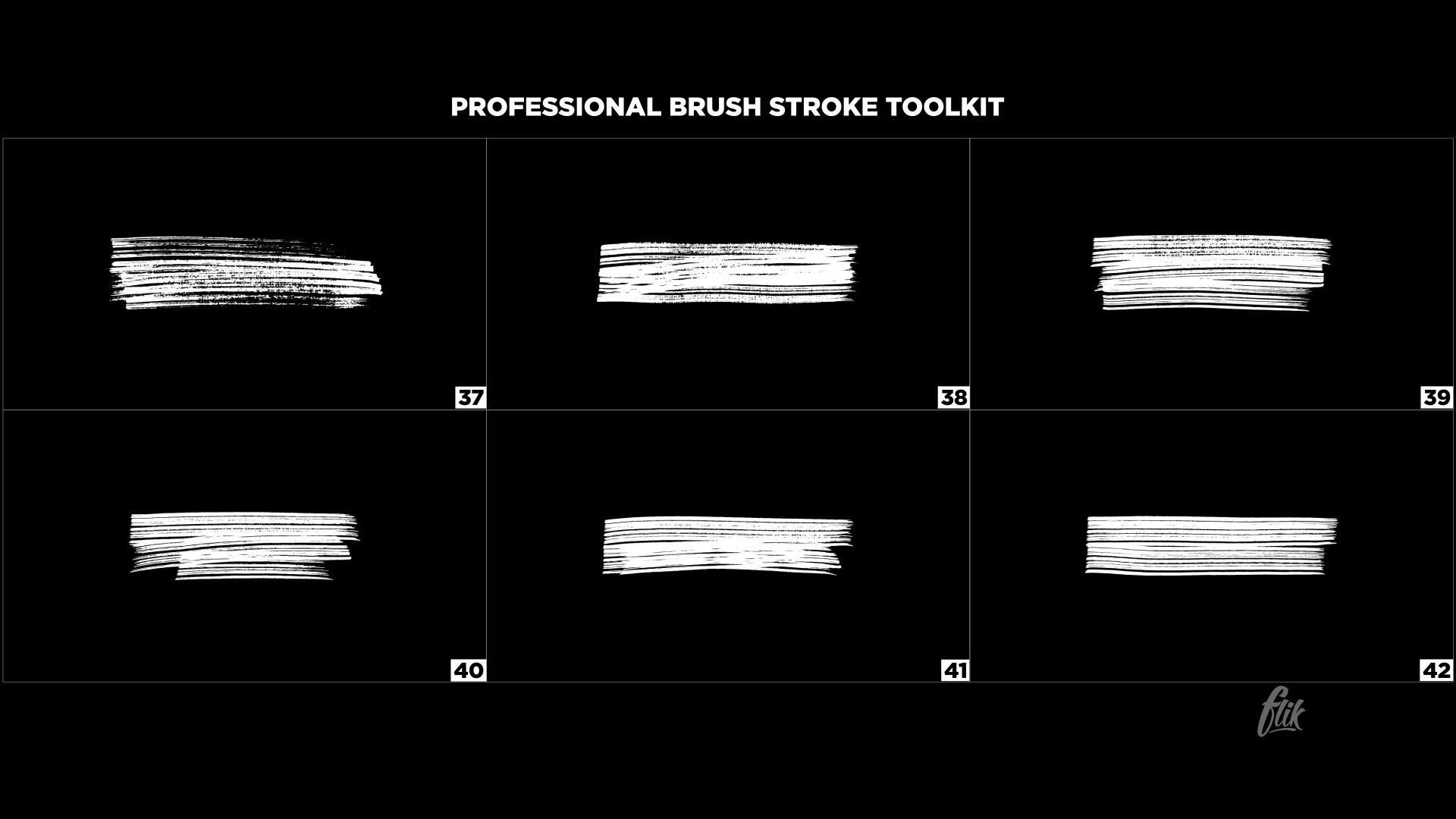 Brush Lower Thirds - Download Videohive 23110580