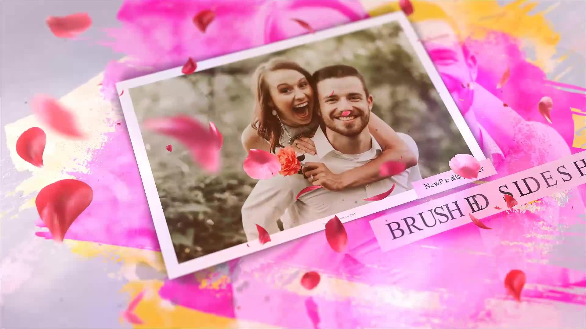 Brushed Petals Slideshow - Download Videohive 22549430
