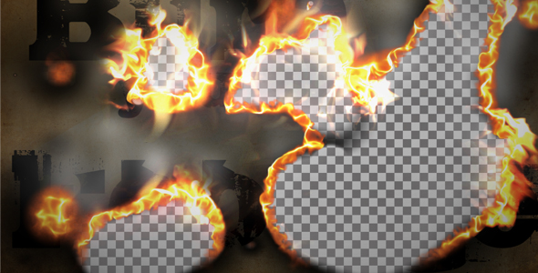 Burn Smoke Transition - Download Videohive 99919