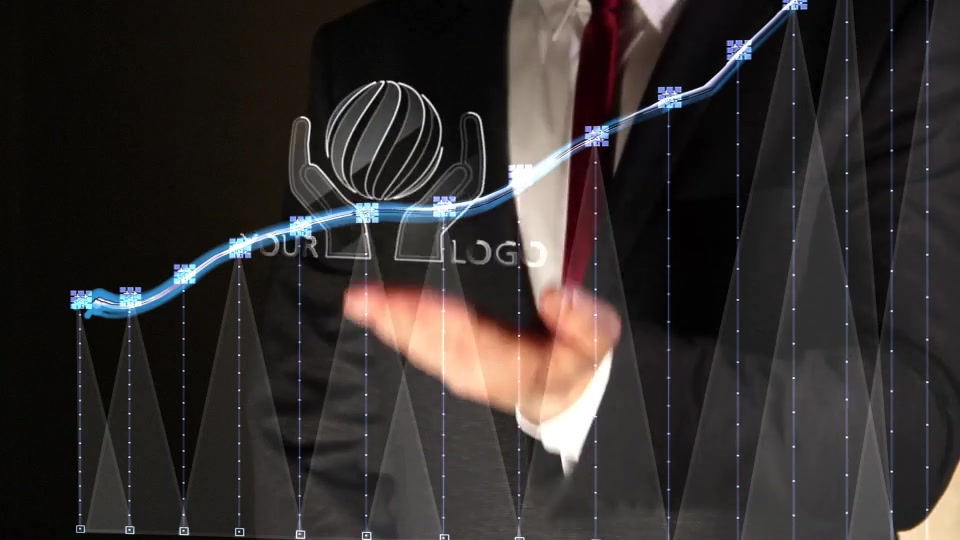 Business Chart Logo Intro - Download Videohive 16226367