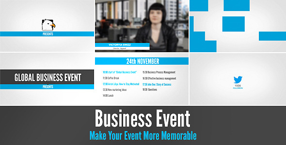 Business Event - Download Videohive 5430136