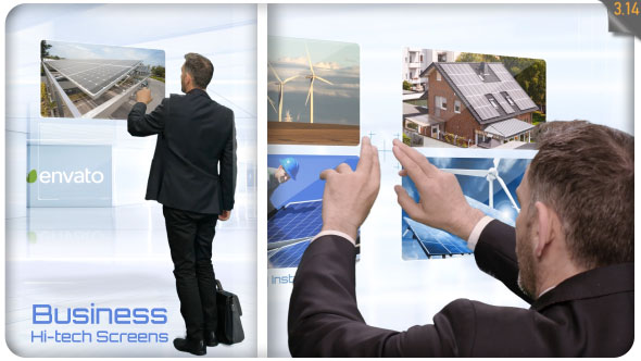 Business Hi Tech Screens - Download Videohive 20020469