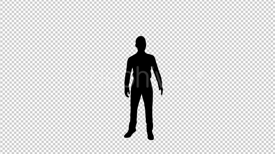 Businessman Talking Silhouette - Download Videohive 19685836