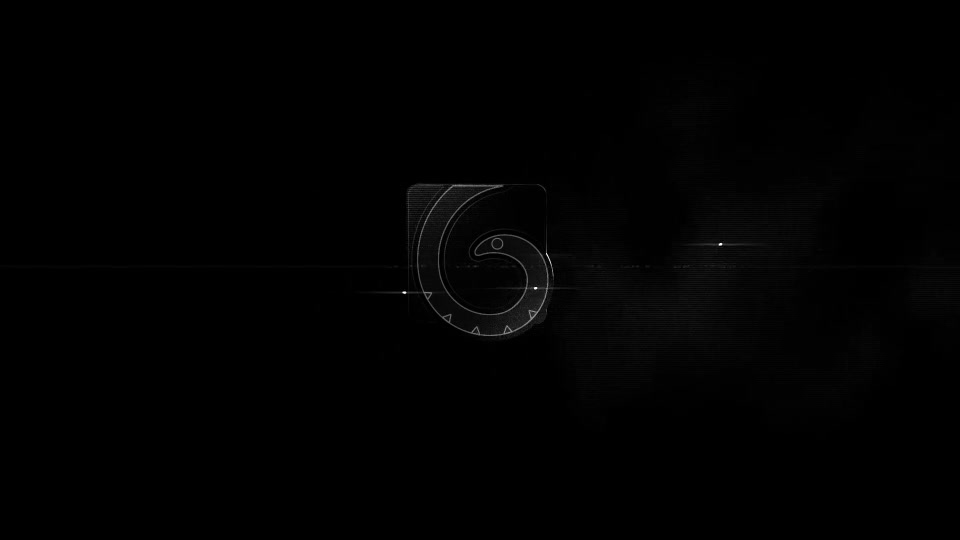 B&W Glitch Logo Reveal - Download Videohive 7881864
