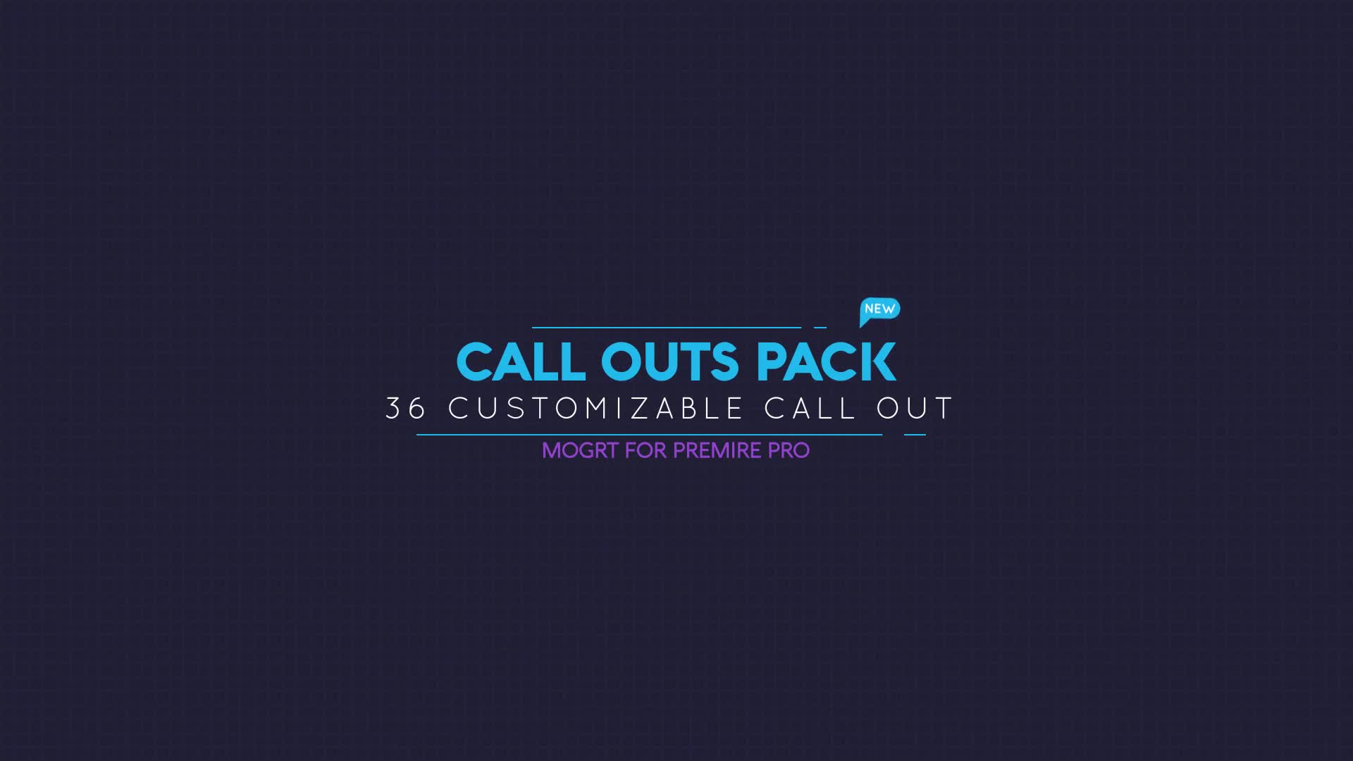 Call Out Pack - Download Videohive 23253583