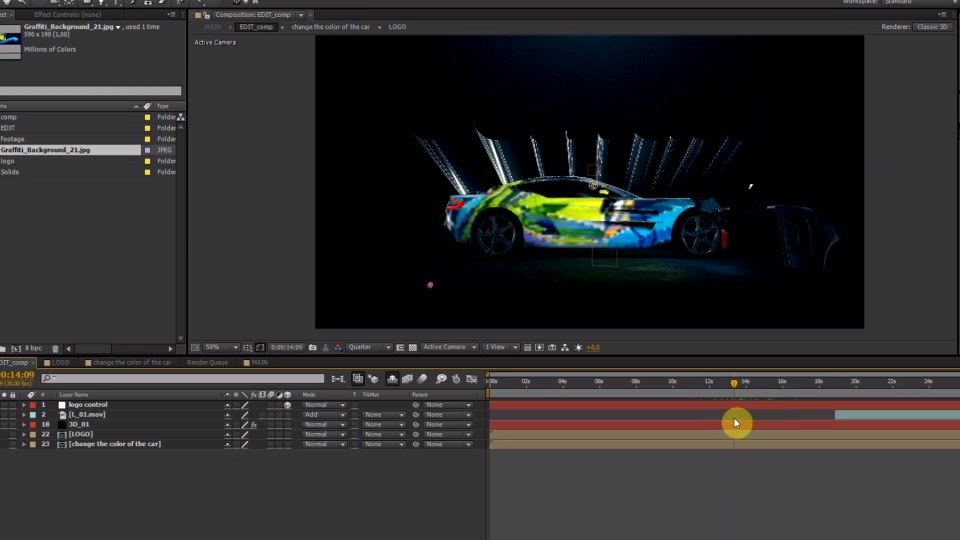 Car Reveal - Download Videohive 14486062