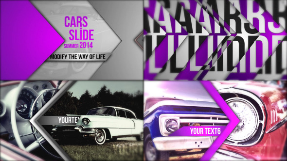 Cars Slide Show - Download Videohive 5923884