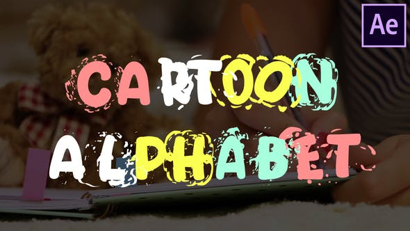 Cartoon Alphabet | After Effects - Videohive 25622907 Download
