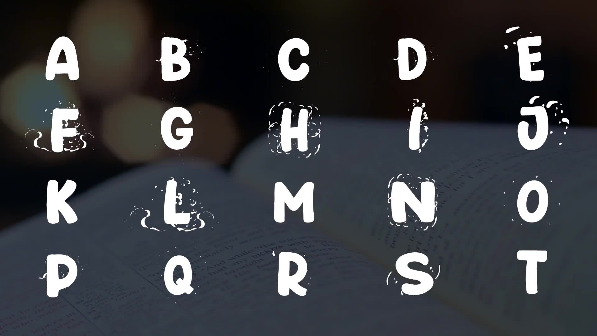 Cartoon Alphabet | FCPX Videohive 25623160 Apple Motion Image 2