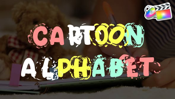 Cartoon Alphabet | FCPX - Videohive Download 25623160