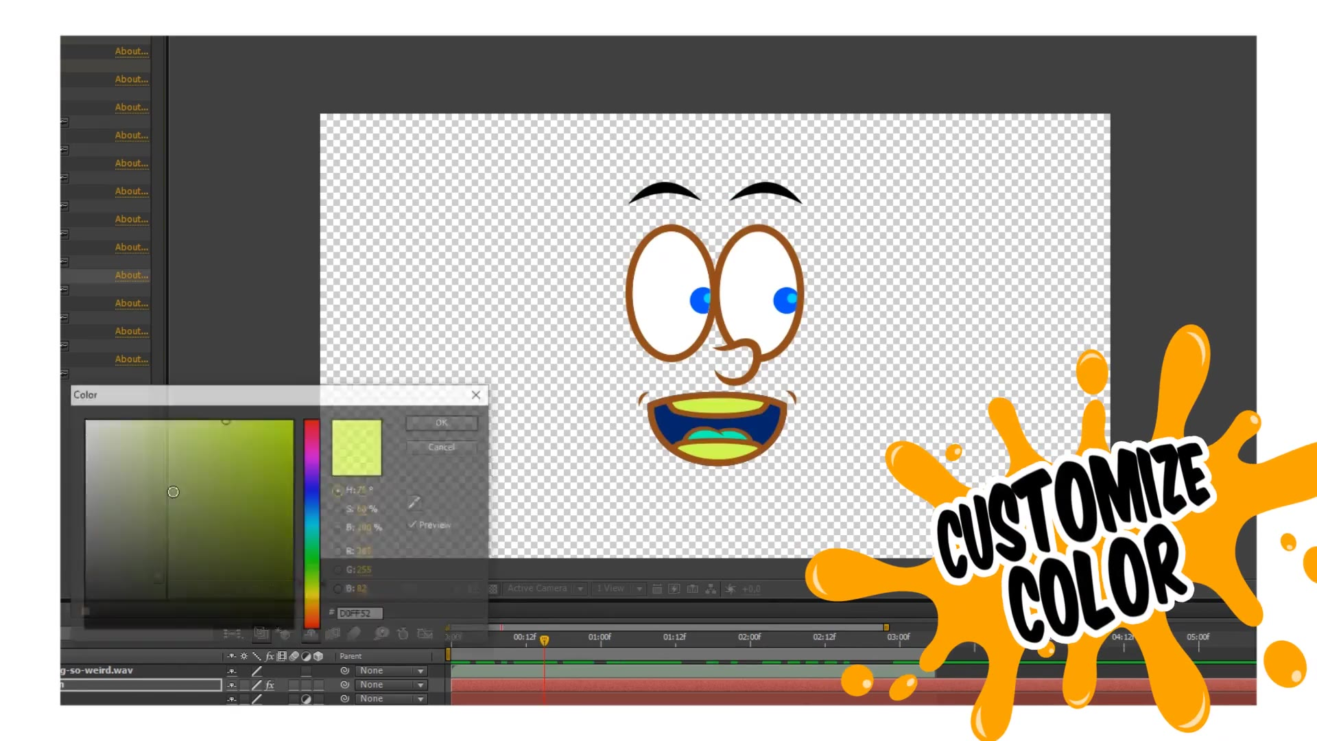 Cartoon Face Videohive 25613793 After Effects Image 6
