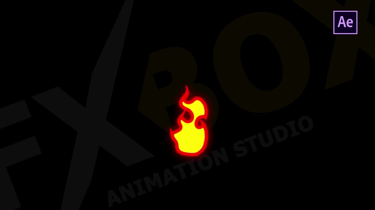 Cartoon Fire Elements - Download Videohive 21741534