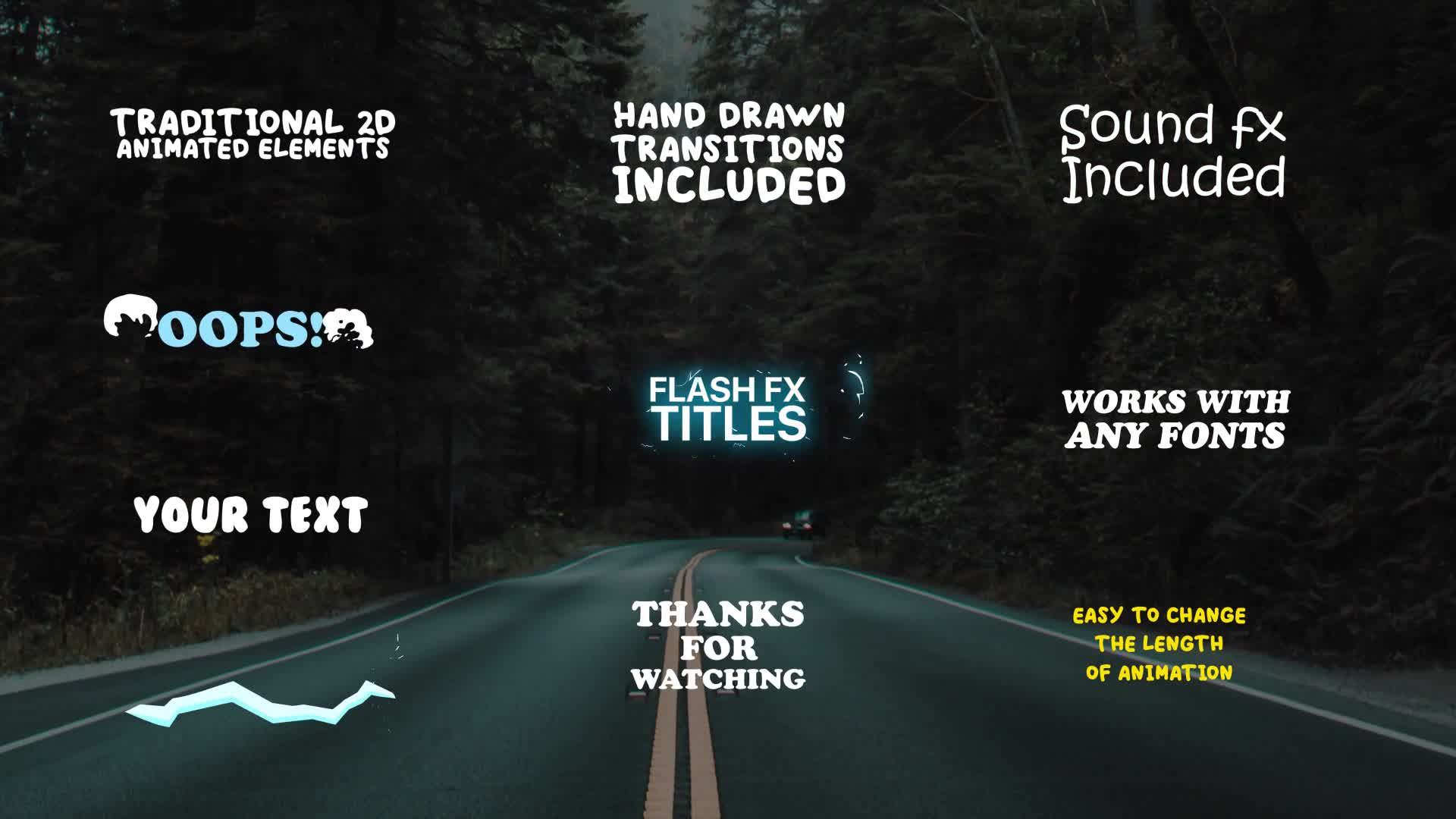 Cartoon Lyric Titles| After Effects Template Videohive 23650906 After Effects Image 12