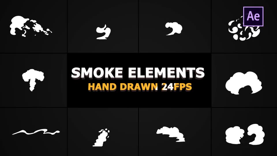 Cartoon SMOKE Elements - Download Videohive 21135200