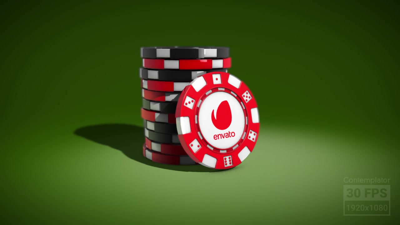 Casino Chips Logo Reveal - Download Videohive 19303931