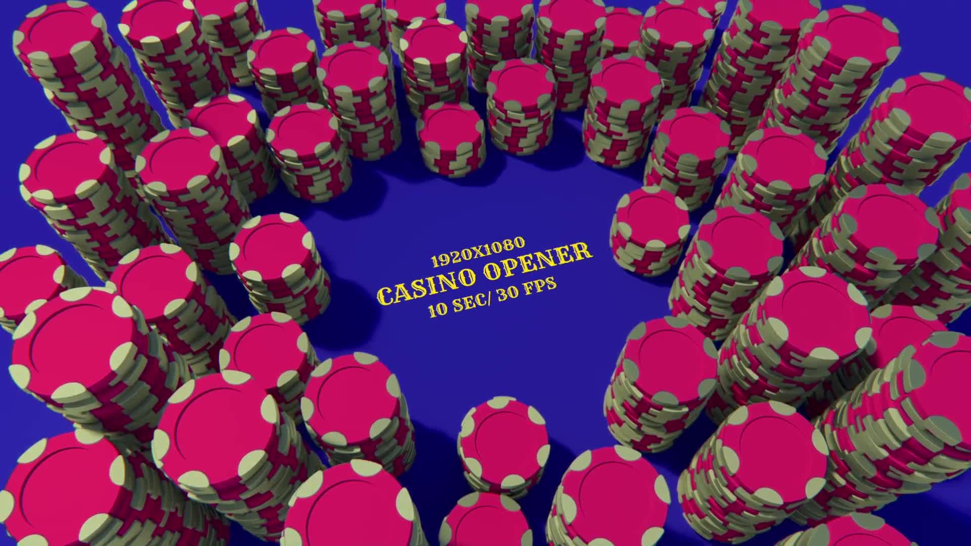 Casino Games/ Poker Champions/ Online Game Roulette Intro/ Slot Machine/ Profit Big Money Win/ Chips Videohive 26379985 After Effects Image 8